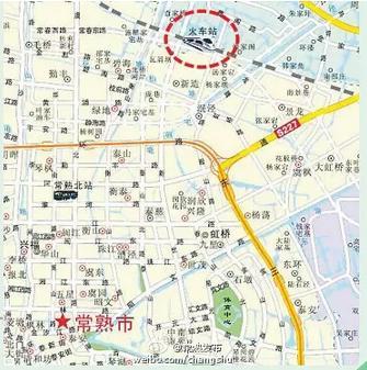苏州常熟地图全图高清版展示