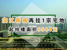 滨江新城再挂1宗宅地 起拍楼面价5584元