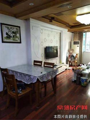 义庄公寓88平方,车库15平方,精装修,140万