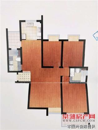 c明日星洲,中间楼层,精装3+1房,两卫,134平,229万,满五唯一,可上学