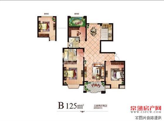 c衡丰家园127平,中下层,毛呸,328万,不满2年,三开间,可上学  3室2厅2卫
