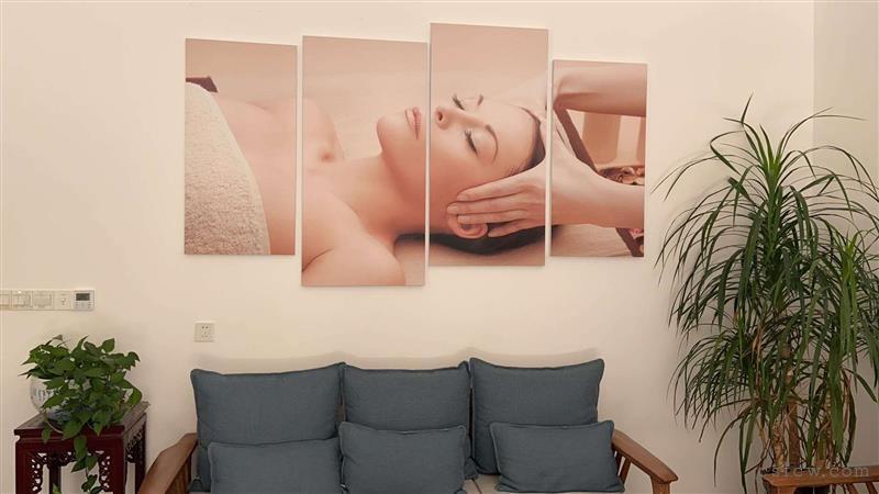 美容店出租:万达万福街2楼260平装修花了56万每间房间配备淋浴房