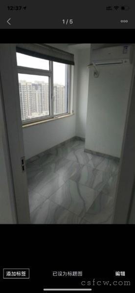 万达公寓,2房1卫,19楼,拎包入住,2000月租