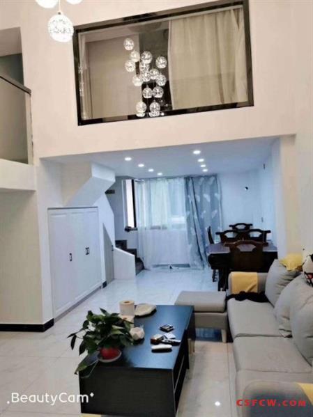 c中南锦城,56加56平,全新精装,复式两房,56万