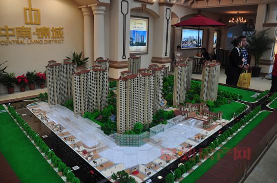 城北中轴核心常熟中南锦城售楼处25日公开