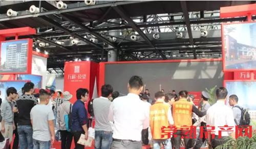 红动常熟千人追捧 房博会有个展厅被挤爆了