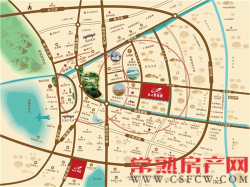 琴川碧桂园——傲立城央 奢享最完善配套