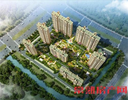 琴川碧桂园落子文化片区 常熟未来新城中心