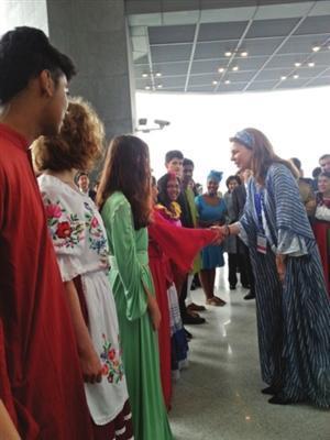 世界联合学院常熟分校开学 约旦王后现常熟