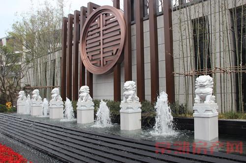 弘阳·上园中式实景样板区华美绽放全城品鉴