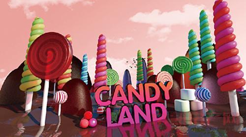 五一房展会 加宝花园带你玩转甜腻糖果世界