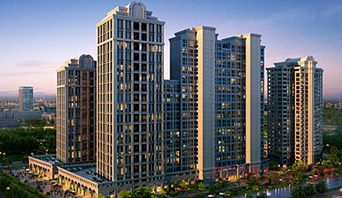 新古典欧陆建筑风格天玺5月最新工程进度