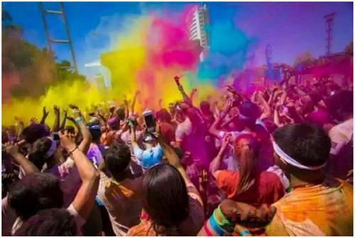 """有种爱是彩色的 """"色彩盛宴""""即将嗨翻虞城"""