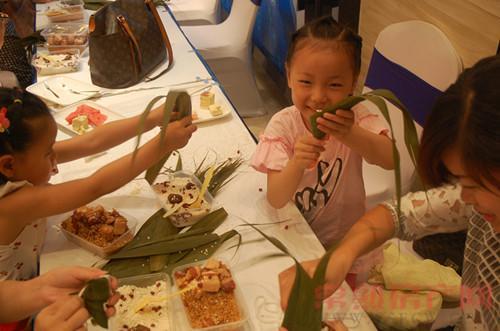 创想凯旋湾粽子DIY 粽香四溢传递端午浓情
