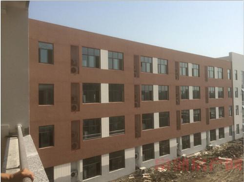 常熟东南小学土建施工基本完成 预计9月开学