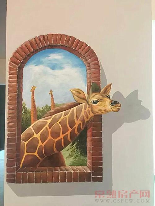 一睹世茂御珑湾真实的3D手绘情景样板房