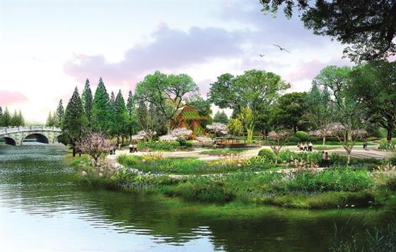 江苏省园博会13个城市展园全部进场施工