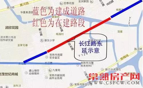 长江路东延将穿越三环路 就差这最后一段