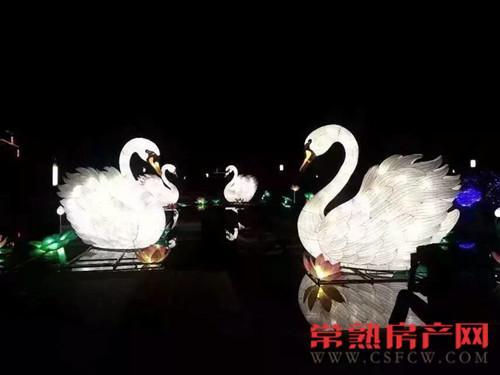 国际范儿十足 2015尚湖金秋国际灯会启幕