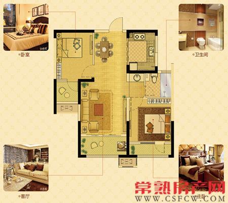 皇家园林典范 中南御锦城9#楼户型解析