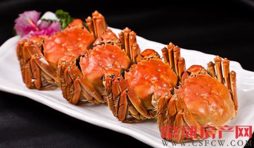 常熟天玺的这桌螃蟹给你们承包了!
