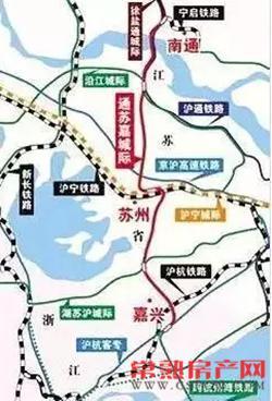 交通部门:通苏嘉城际铁路方案暂未确定