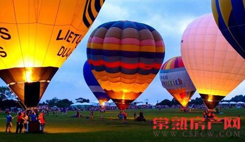 常熟万达热气球嘉年华 全城招募飞行体验官