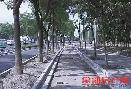 元和路变身四车道 将于10月1日前实现通车