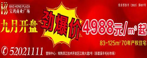 宝鸿商业广场9.26开盘 劲爆价4988元/㎡起
