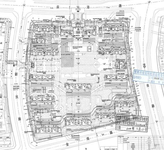 绿城2018A-004地块明月兰庭批后公示首出炉