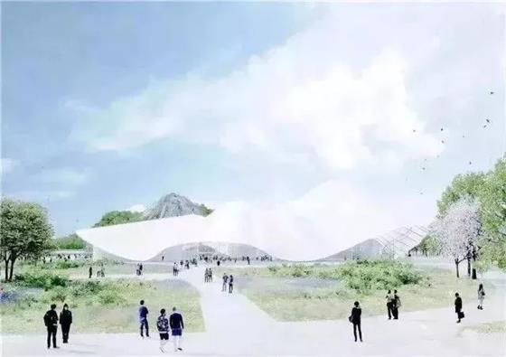 苏州乐园原址惊艳变身 狮山即将迎来新地标