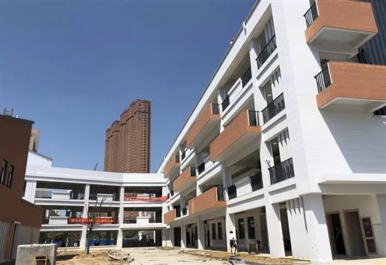 实验中学昭文校区扩建完成 新学期投入使用