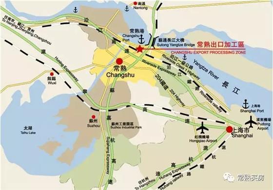 通港路高架通车常熟市区到滨江仅11分钟车程?