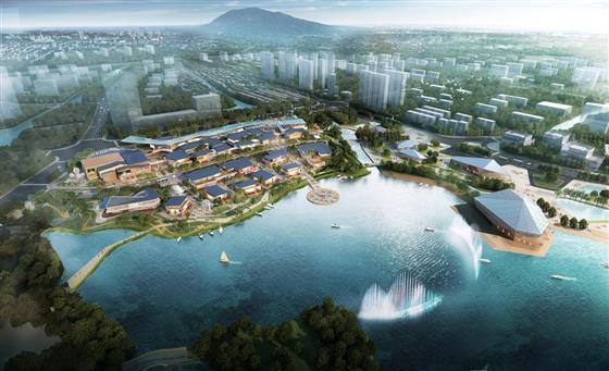20多栋8.5万方琴湖小镇商业规划出炉