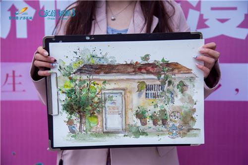 小区的垃圾桶,竟被他们画成了画?