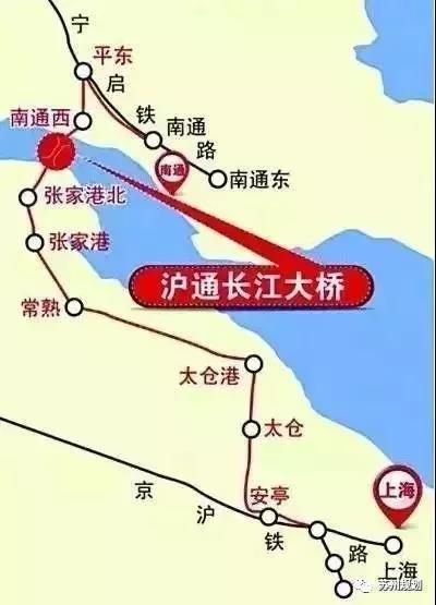 来啦!来啦!沪通铁路又有新进展!