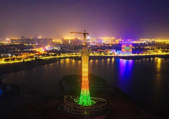 180米!常熟最高建筑主体施工完成~