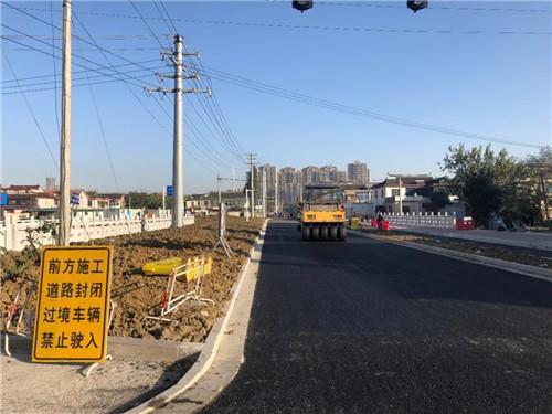 金山路贯通改造工程本月底竣工通车