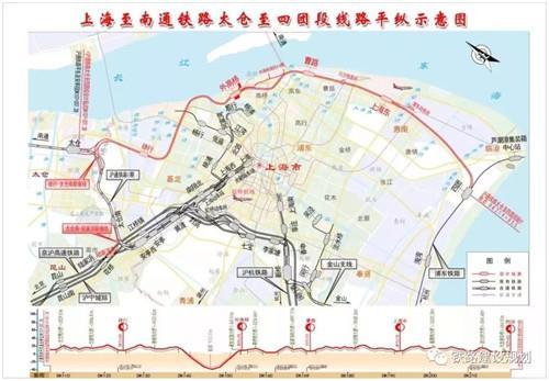 沪通铁路又有新消息,常熟人将来可以坐火车到浦东