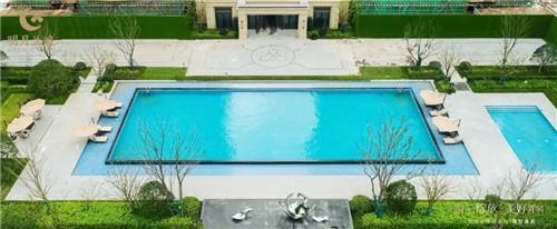 从无边泳池到二代外立面绿城惊艳绽放虞城