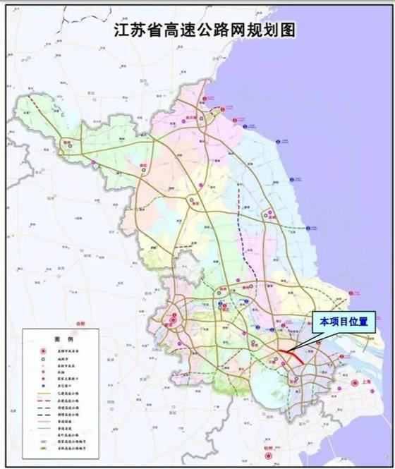 锡太高速年底开工这里将成为苏锡常中心