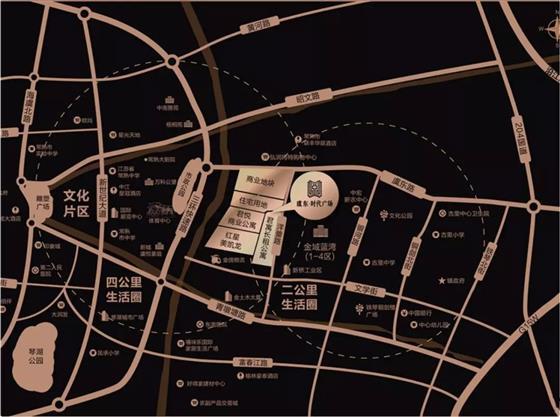 虞东时代广场批后公式出炉 规划拟建6幢13层服务性公寓