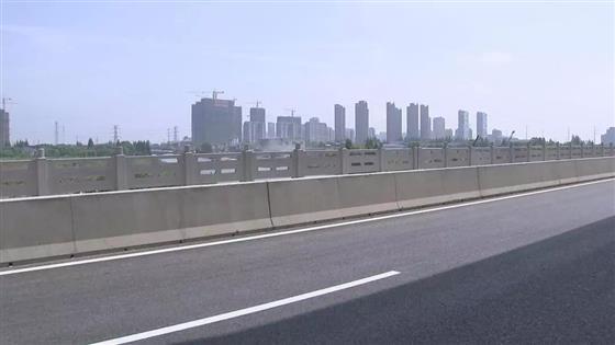 通港路高架下,碧溪到浒浦6月底快通车啦