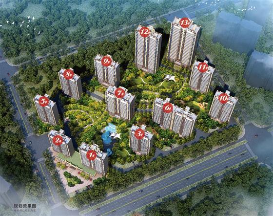 通港路全线开通滨江新城2.0时代还会远么