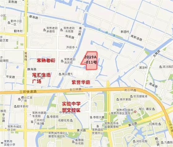 城铁片区2019A-011号地块明日开拍