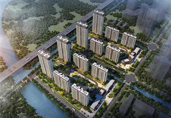 南部新城澜悦雅筑北地块批后公示出炉 拟建6幢高层/小高层