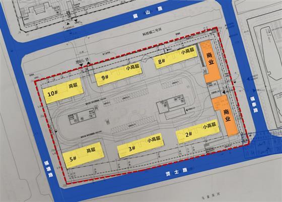 508户丨4幢小高层+2幢高层 澜悦雅筑南地块批前公示出炉