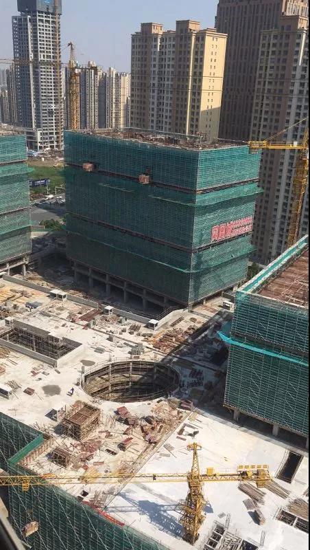 工程进度播报|凤凰城:6月首栋封顶在即,幸福可期~
