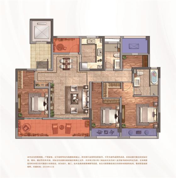 【新房资讯】紫誉华庭三期约126-138㎡部分房源在售