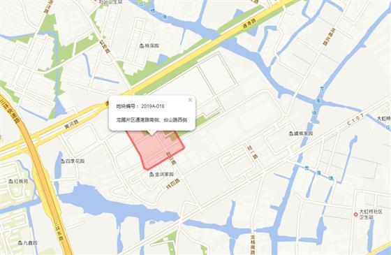 常熟龙腾片区2019首挂地 起拍楼面价10096元/㎡